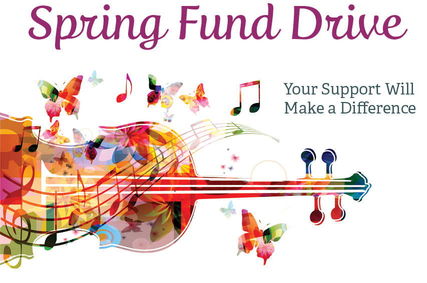 spring fund drive graphic